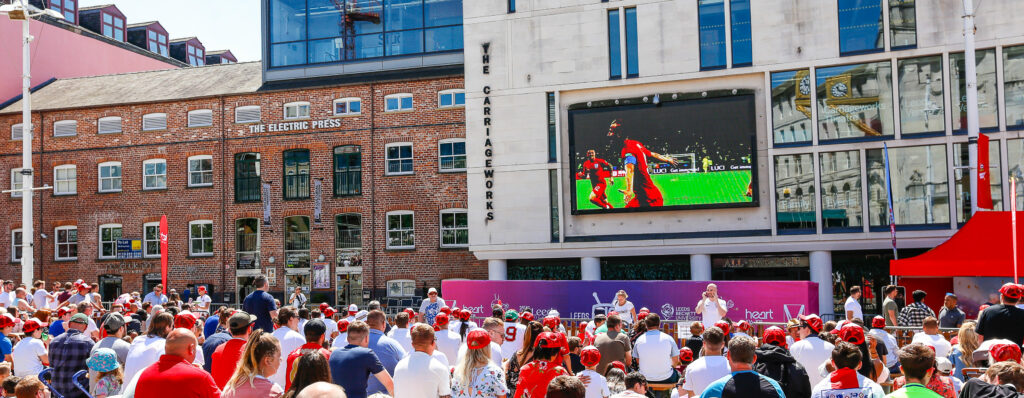 Leeds Big Screen