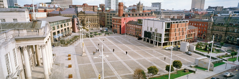 Millennium Square from above